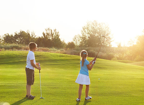 7 ventajas del golf para niños