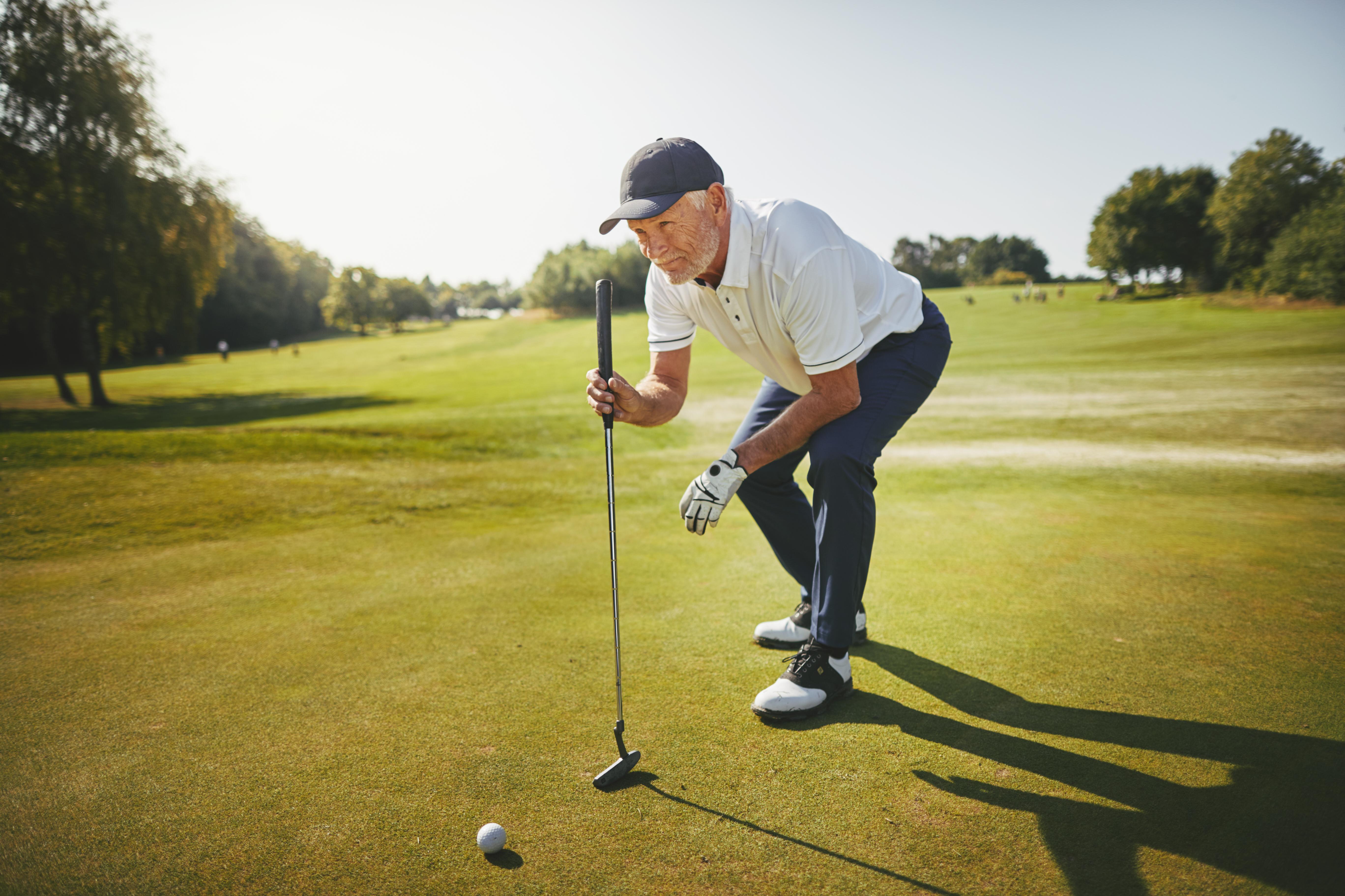 golfistas senior